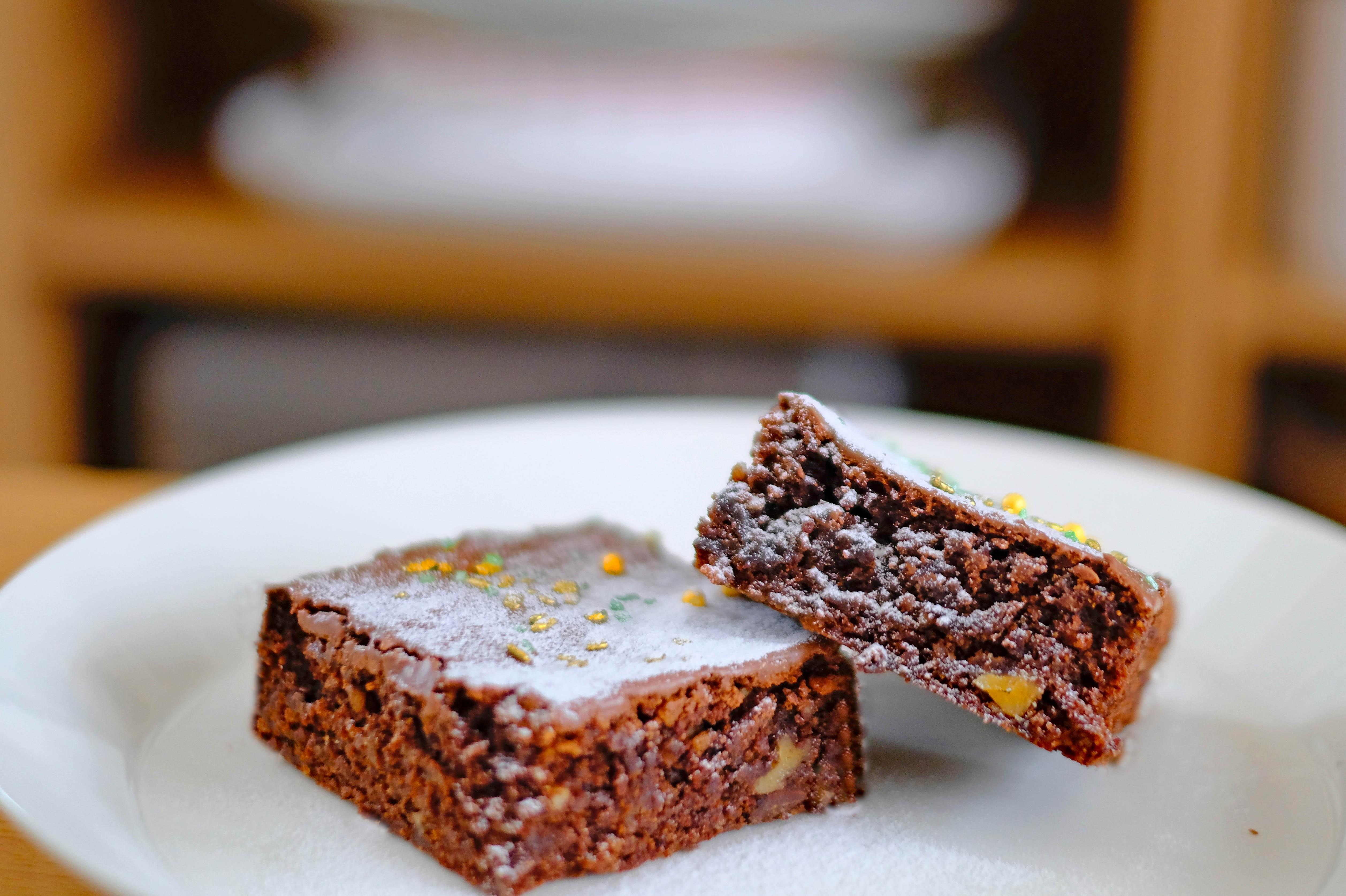 Safttiger Schokoladenkuchen Nusskuchen Rezept